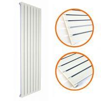 1780 x 490mm White Single Flat Panel Vertical Radiator